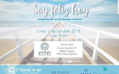 Conferencia «Soy Feliz Hoy»