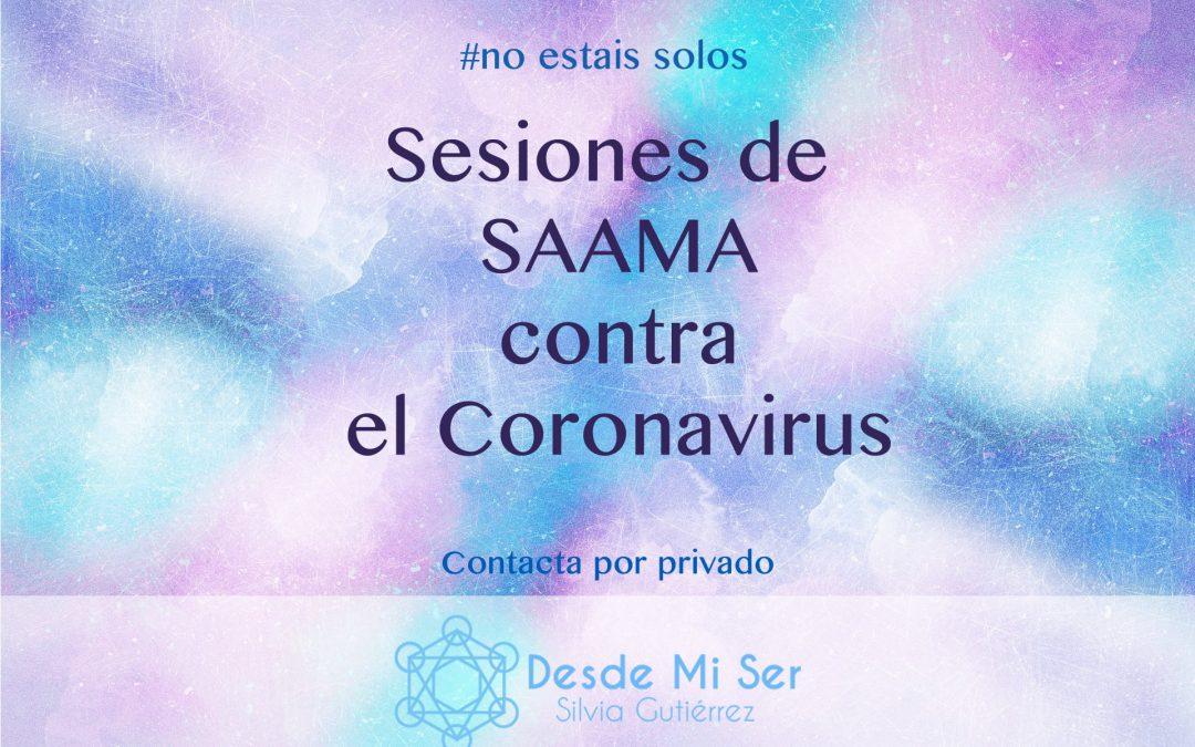 Sesiones de SAAMA para el COVID-19